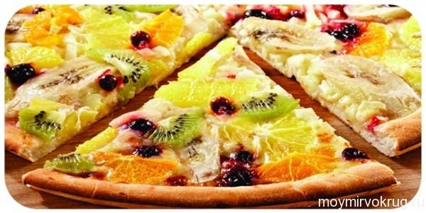 Готовим умопомрачительную фруктовую пиццу