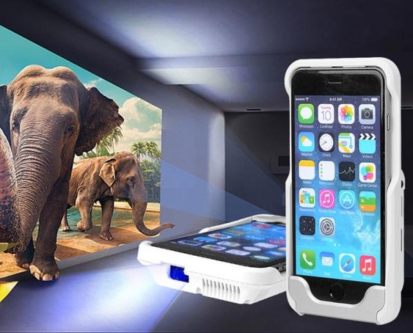Чехол D9+ для iPhone 6 выполняет функцию док-станции и пикопроектора