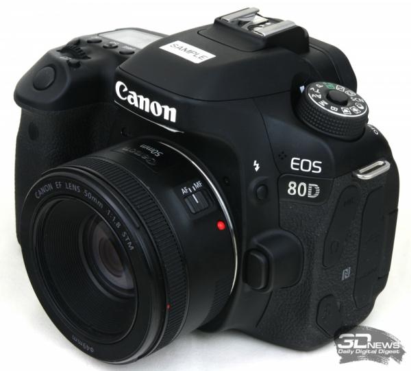 Новая статья: Обзор зеркалки Canon EOS 80D: медленная, но эволюция